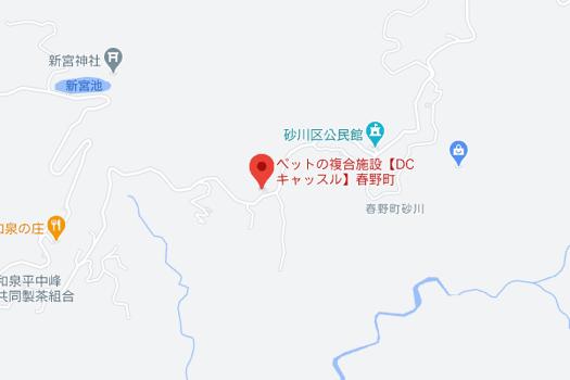 D.C. キャッスル 施設地図