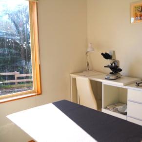療養ケア 診察室の写真