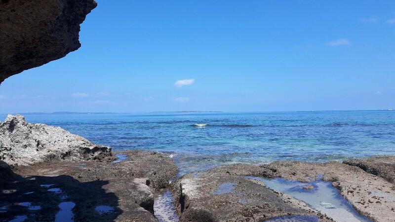 久高島の旅先にて・・感心
