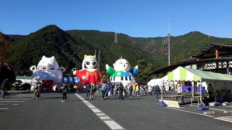 春野産業祭 パワフルイベントに参加しました