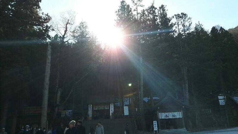 無病息災 ! 諏訪大社に初詣へ行ってきました