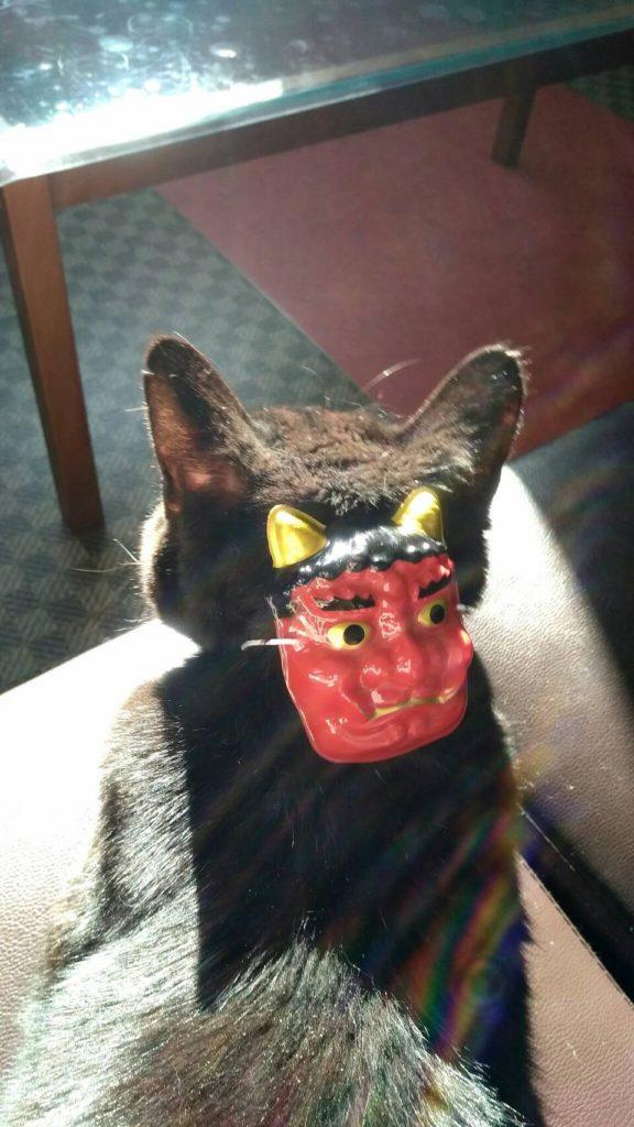 お泊り中でも楽しくイベント ! 節分・コスプレ・犬猫編