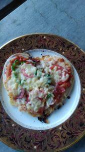 ピザ窯、ドッグラン、ハートなピザ