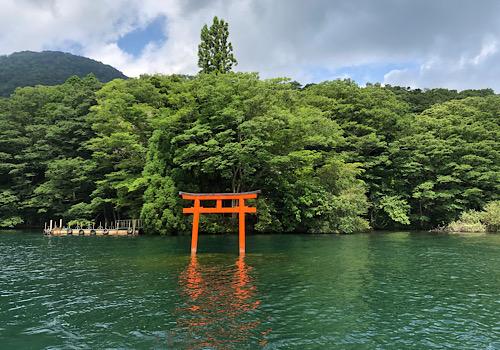 夏越の大祓 箱根神社へ参拝